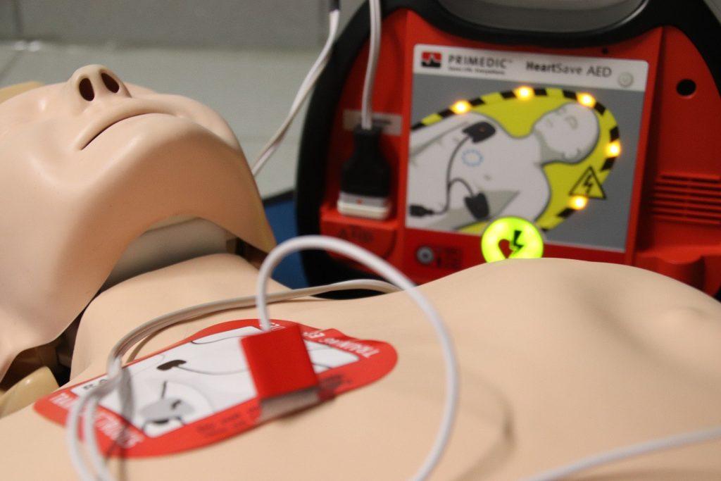 Corso BLSD DAE defibrillatore